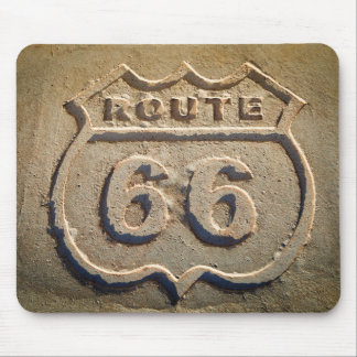 Route 66 historic sign, Arizona Mouse Pad