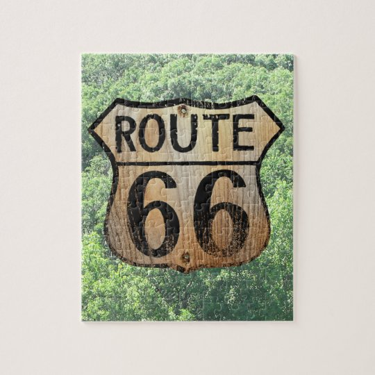 Route 66 Historic Sign - Puzzle