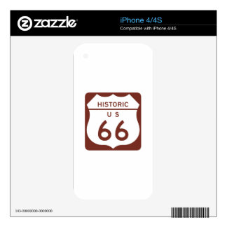 Route 66 - Historic US Decals For iPhone 4