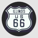 Route 66 Illinois Sticker