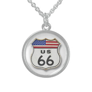 Route 66 in 3D Custom Jewelry