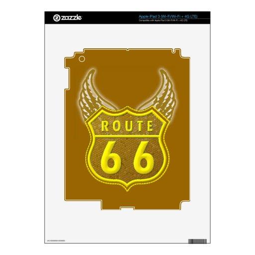 Route 66 iPad 3 skins