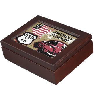 Route 66 keepsake box