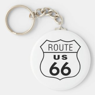 Route 66 Keychain