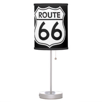 ROUTE 66 LAMP