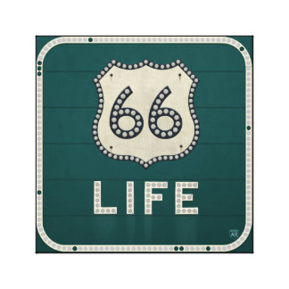Route 66 Life Canvas Print