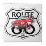Route 66 life style  love the freedom azulejo ceramica