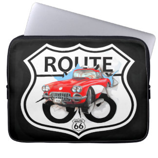 Route 66 life style love the freedom computer sleeve