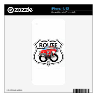 Route 66 life style love the freedom decals for the iPhone 4