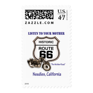 Route 66-Listen to your mother- Needles Postage