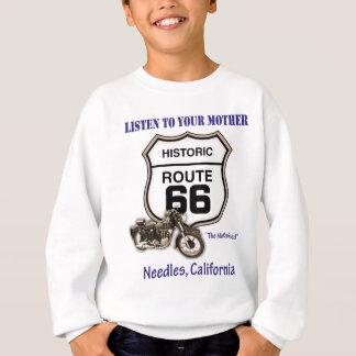 Route 66-Listen to your mother- Needles Sweatshirt