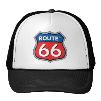 Route 66 Logo Mesh Hat