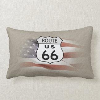 Route 66 lumbar pillow