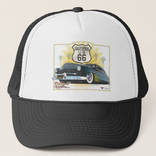 Route 66 Merc 2 Trucker Hat