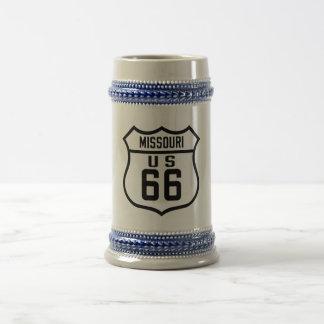 Route 66 - Missouri Beer Stein