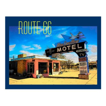 RickDouglas Route 66 Motel Postcard - Customized