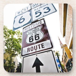 Route 66 Mother Road Beverage Coaster