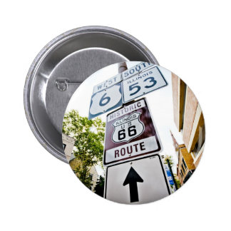 Route 66 Mother Road Button
