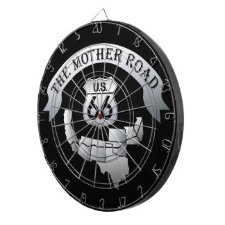 Route 66 Mother Road Dartboard