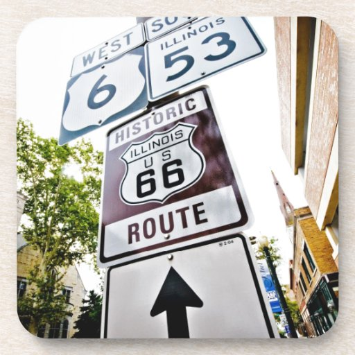Route 66 Mother Road Drink Coasters