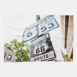 Route 66 Mother Road Towels