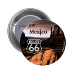 Route 66 new Mexico 2 Inch Round Button