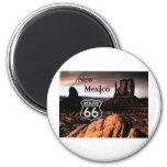 Route 66 new Mexico 2 Inch Round Magnet