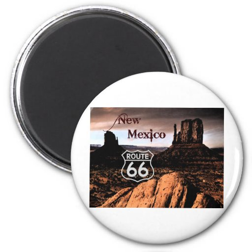 Route 66 new Mexico Magnets