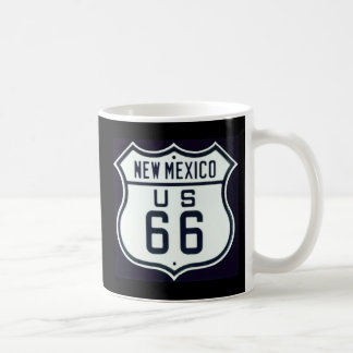 Route 66 New Mexico Coffee Mugs