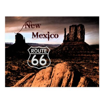 tiki66 Route 66 new Mexico Postcard