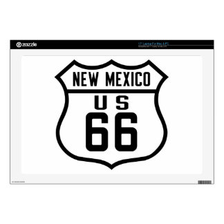 Route 66 - New Mexico Laptop Decal