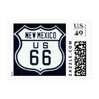 Route 66 New Mexico Stamp