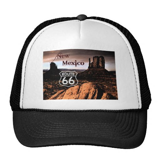 Route 66 new Mexico Trucker Hat