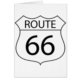 Route 66 Note Cards