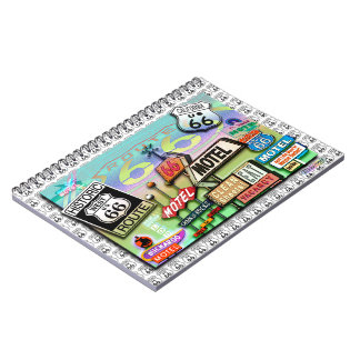 Route 66 Notebook