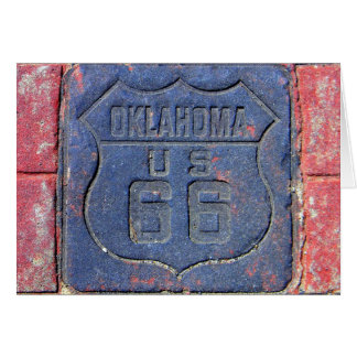 Route 66 Oklahoma Greeting Card