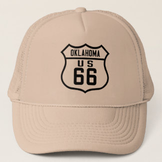 Route 66 - Oklahoma Trucker Hat