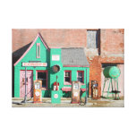 Route 66 Old Conoco Station Canvas Print