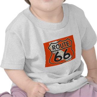 Route 66 Orange California Shirts