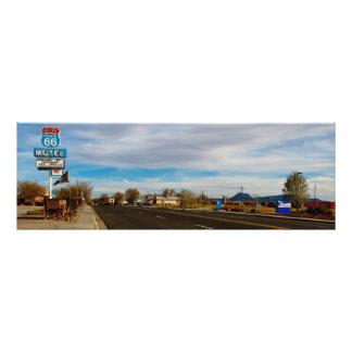 Route 66 photo print