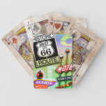 ROUTE 66 PLAYING CARDS 2 by PopArtDiva Bicycle Playing Cards