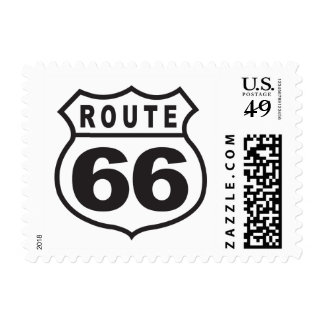 Route 66 postage