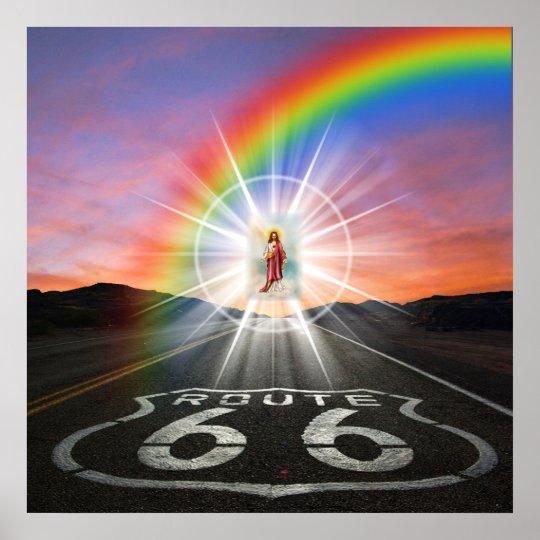Route 66 - Religious - SRF Poster