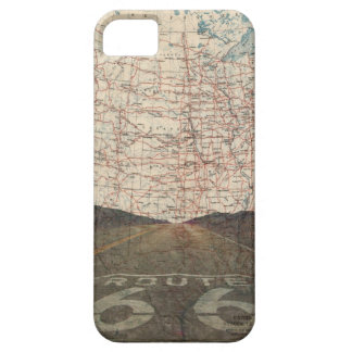 Route 66 Road Map iPhone Cover iPhone 5 Case