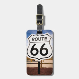 Route 66 road sign, Arizona Luggage Tag