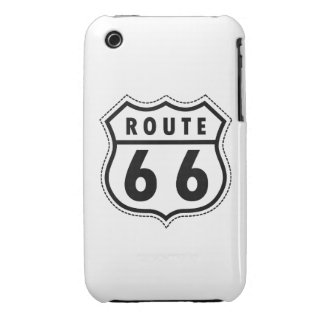 Route 66 Road Sign Case-Mate iPhone 3 Case