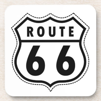 Route 66 Road Sign Coaster