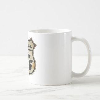 Route 66 Road Sign Coffee Mug