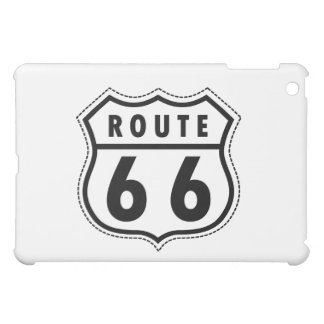 Route 66 Road Sign Cover For The iPad Mini