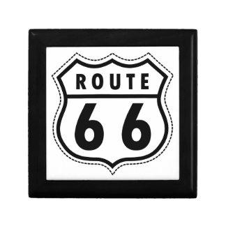 Route 66 Road Sign Keepsake Box